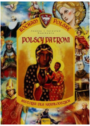 Polscy patroni. Historia Polski - okładka książki