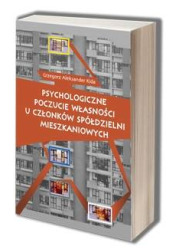 Psychologiczne poczucie własności - okładka książki