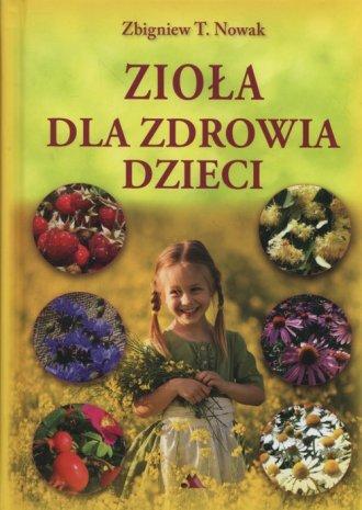 Zioła dla zdrowia dzieci - okładka książki