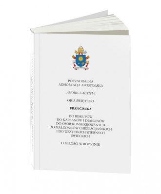 Amoris Laetitia. Posynodalna adhortacja - okładka książki