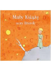 Mały Książę uczy literek - okładka książki