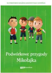 Podwórkowe przygody Mikołajka - okładka książki