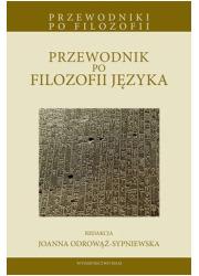 Przewodnik po filozofii języka - okładka książki