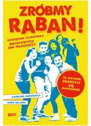 Zróbmy raban! Niezbędnik na Światowe - okładka książki
