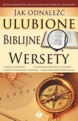 Jak odnaleźć ulubione biblijne - okładka książki