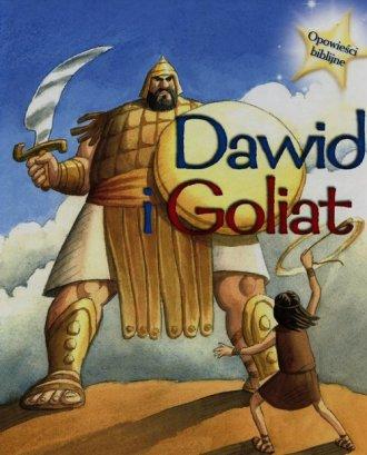 Dawid i Goliat. Opowieści biblijne - okładka książki