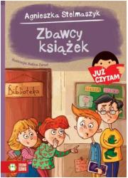 Zbawcy książek. Już czytam! - okładka książki