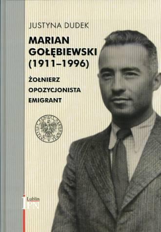 Marian Gołębiewski (1911-1996). - okładka książki