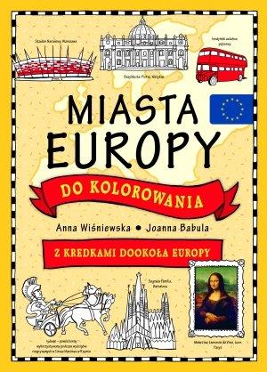 Miasta Europy do kolorowania. Z - okładka książki