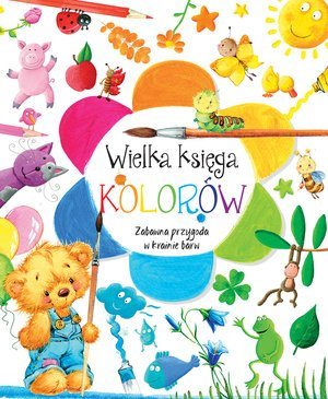 Wielka księga kolorów - okładka książki