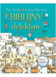 Biblijny detektyw - okładka książki