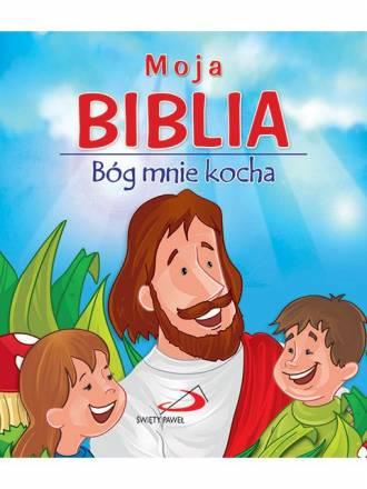 Moja Biblia. Bóg mnie kocha - okładka książki