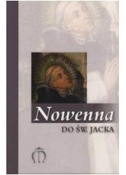 Nowenna do św. Jacka - okładka książki