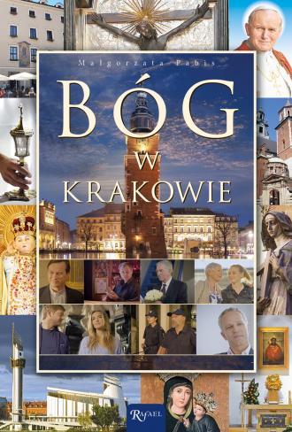 Bóg w Krakowie - okładka książki