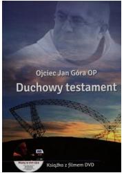 Duchowy testament (+ DVD) - okładka książki