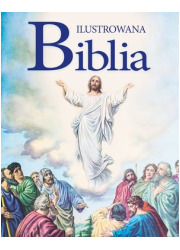 Ilustrowana Biblia - okładka książki