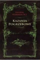 Kazania Pogrzebowe - okładka książki
