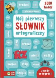 Mój pierwszy słownik ortograficzny - okładka podręcznika