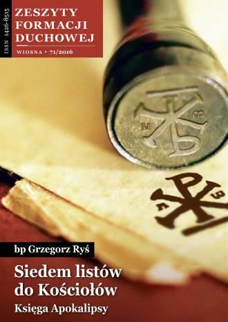Zeszyty Formacji Duchowej 71/2016. - okładka książki