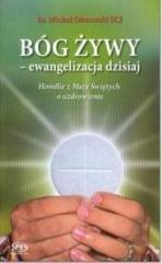 Bóg żywy - ewangelizacja dzisiaj - okładka książki