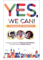 Yes, We Can! Powołani by świadczyć - okładka książki