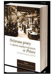 Ochrona pracy w okresie międzywojennym - okładka książki