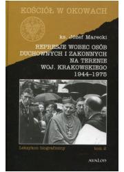 Represje wobec osób duchownych - okładka książki
