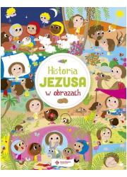 Historia Jezusa w obrazach - okładka książki