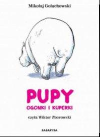 Pupy, ogonki i kuperki - pudełko audiobooku