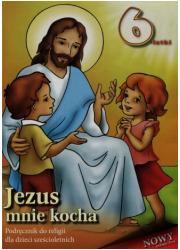 Jezus mnie kocha. Religia nauczanie - okładka podręcznika