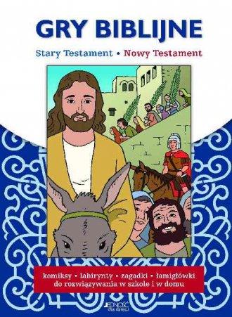 Gry biblijne. Stary Testament, - okładka książki