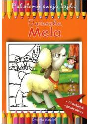 Owieczka Mela. Pokoloruj swoją - okładka książki