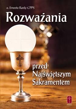 Rozważania przed Najświętszym Sakramentem - okładka książki