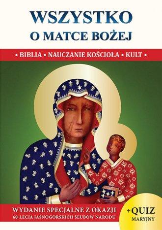 Wszystko o Matce Bożej (wersja - okładka książki