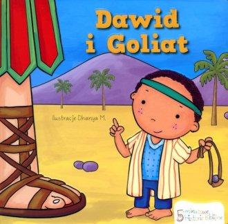 Dawid i Goliat. Historie Biblijne - okładka książki