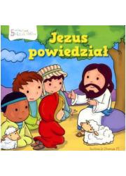 Jezus powiedział. Historie Biblijne - okładka książki