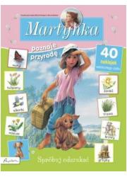 Martynka poznaje przyrodę. Spróbuj - okładka książki