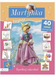 Martynka świętuje. Spróbuj odszukać - okładka książki