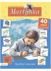 Martynka w szkole. Spróbuj odszukać - okładka książki