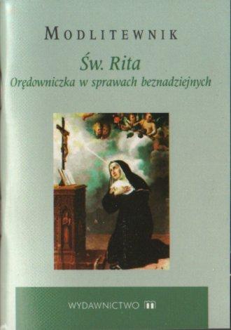 Modlitewnik św. Rita - okładka książki