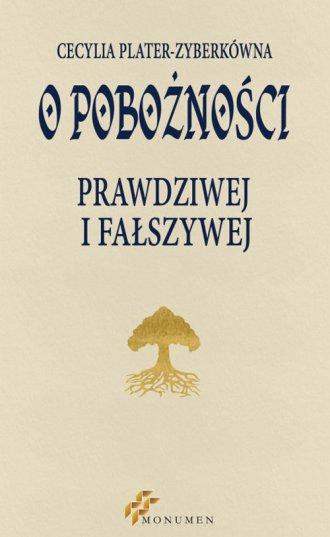 O pobożności prawdziwej i fałszywej - okładka książki
