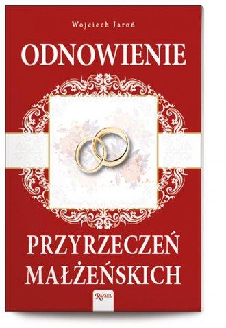 Odnowienie przyrzeczeń małżeńskich - okładka książki