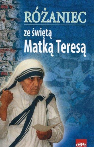 Różaniec ze świętą Matką Teresą - okładka książki