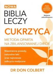 Biblia leczy: cukrzyca - okładka książki