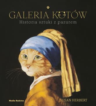 Galeria kotów. Historia sztuki - okładka książki