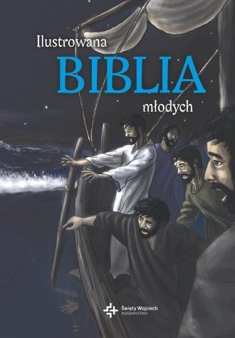 Ilustrowana Biblia młodych - okładka książki