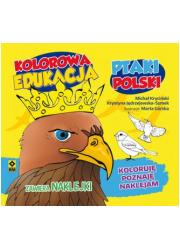Kolorowa edukacja Ptaki Polski - okładka książki