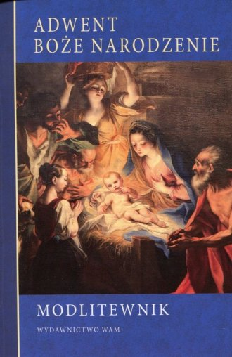Modlitewnik. Adwent, Boże Narodzenie - okładka książki