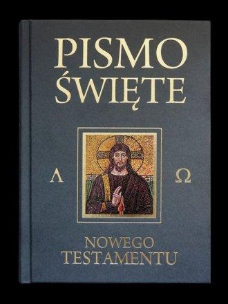 Pismo Św. Nowego Testamentu (popielate) - okładka książki