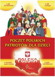 Poczet polskich Patriotów dla dzieci - okładka książki